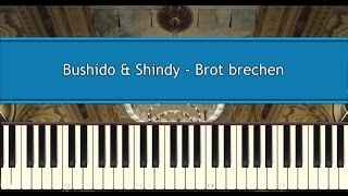 bushido shindy brot brechen piano tutorial