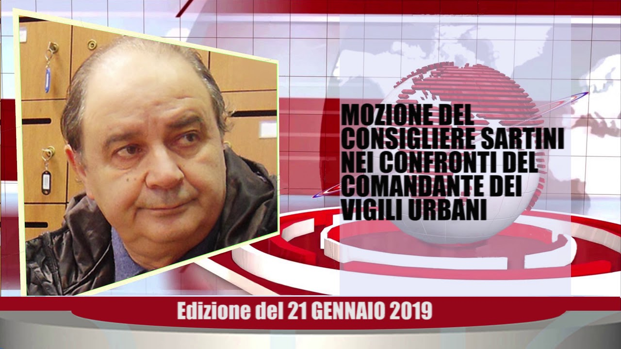 Velluto Notizie Web Tv Senigallia Ed  21 01 2019