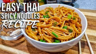 Spicy Thai Noodles | Easy Thai Noodle Recipes thumbnail