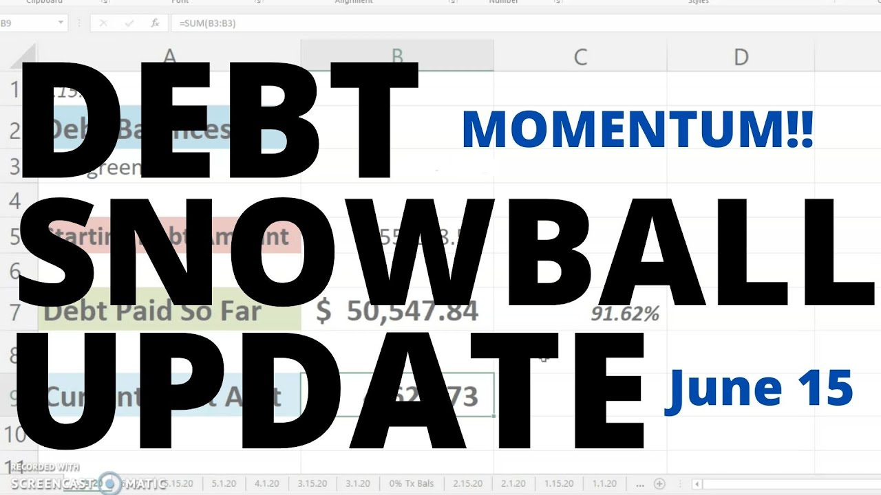 DEBT SNOWBALL UPDATE | Debt Snowball | Debt Payoff | Debt Update | Debt Free Journey | Debt Free
