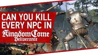 Can You Kill Every NPC In A Town In Kingdom Come: Deliverance?