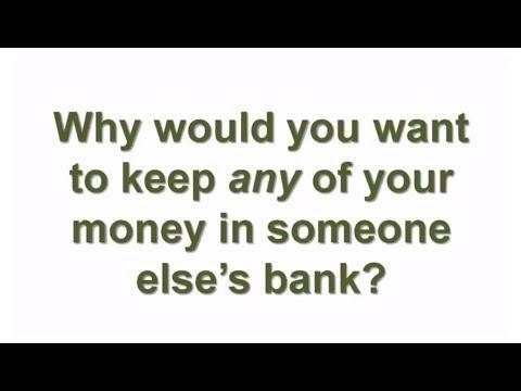 "Jim Conrad's Original ""Dollar Diagram"" for Banking On Yourself"