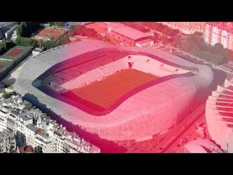 ACI Excellence Awards Decorative  1st Place-  Jean Bouin Stadium in Paris, France