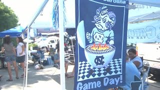 UNC Football: Game Day Experience - Illinois