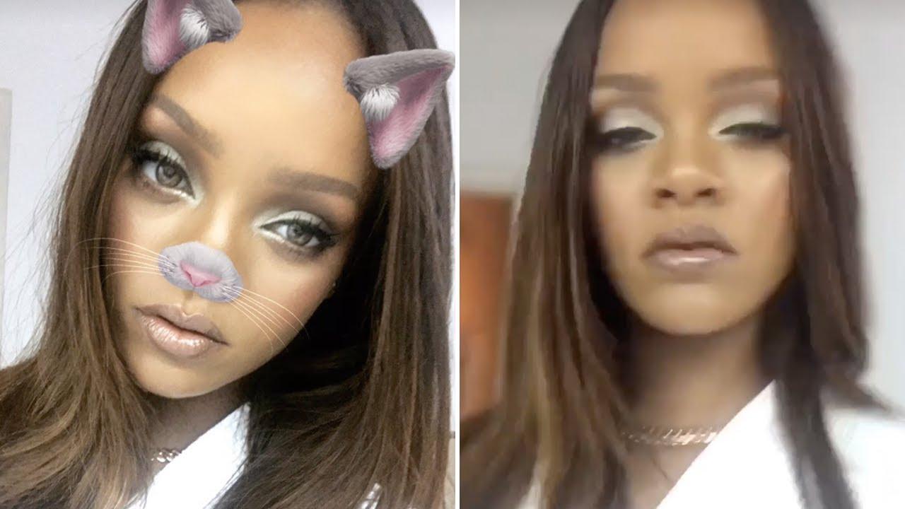 Rihanna | Snapchat Videos | December 2nd 2016 - YouTube