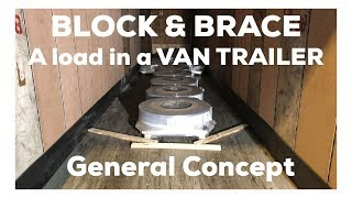 Load Securement  Training - Steel Coils in  a Van Trailer (  trucking 2018)