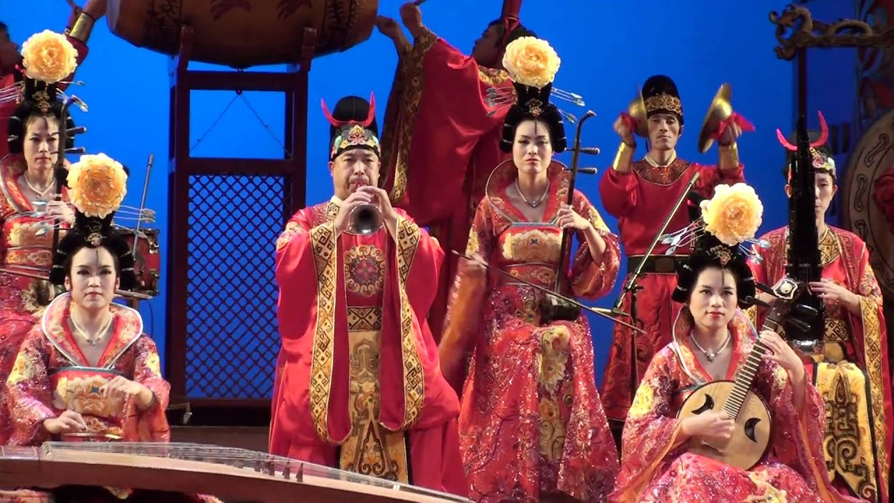 Tang Dynasty Music and Dance Show - Xi'an - China - YouTube
