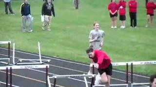 School girls hurdles race ...