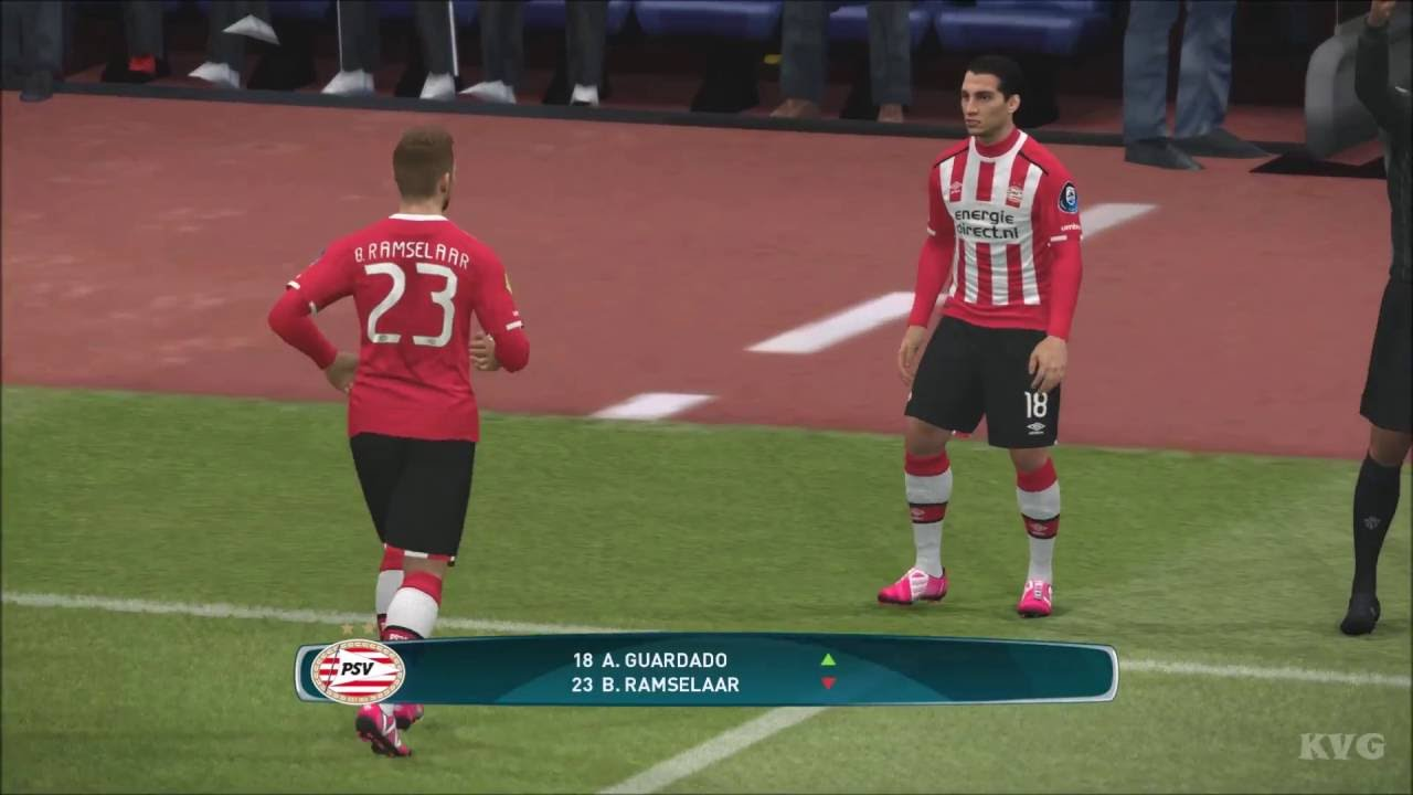 PES 2017 - FC Barcelona vs PSV Eindhoven | Gameplay (PC HD) [1080p60FPS] - YouTube