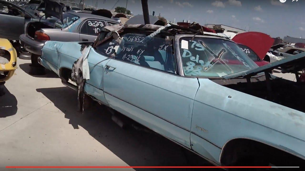 1975 Oldsmobile Delta 88 Convertible At Garden St U Pull It Junkyard In Ft Meyers Fl