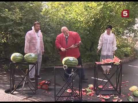 Смотреть Уничтожение арбузов. Стас Барецкий в программе