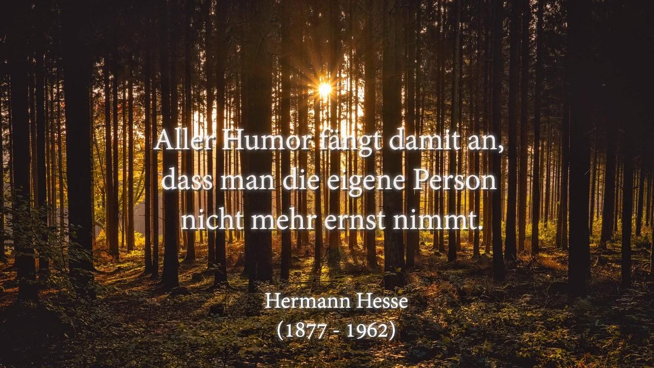 Zitate bäume hesse hermann Hermann Hesse