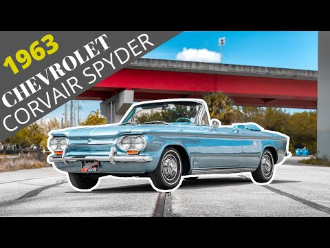 1963 Chevrolet Monza Corvair Spyder, Vintage Turbo Cruise [4k] | REVIEW SERIES