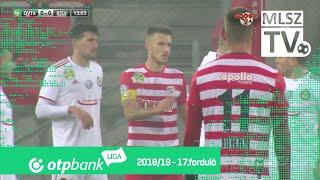DVTK – Kisvárda Master Good | 1-1 | (1-1)| OTP Bank Liga | 17. forduló | MLSZTV