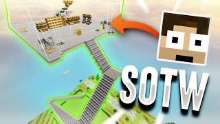 LIVING ON A LOLITSALEX SKYBRIDGE #1 - SOTW *IDIOTSQUAD* | Minecraft HCF