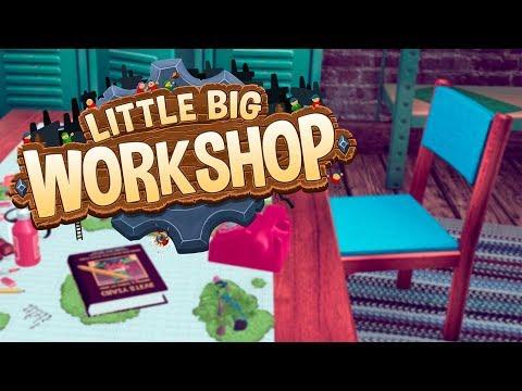 МАЛОЙ БОЛЬШОЙ МАСТЕР! | Little Big Workshop - стрим с Маколум