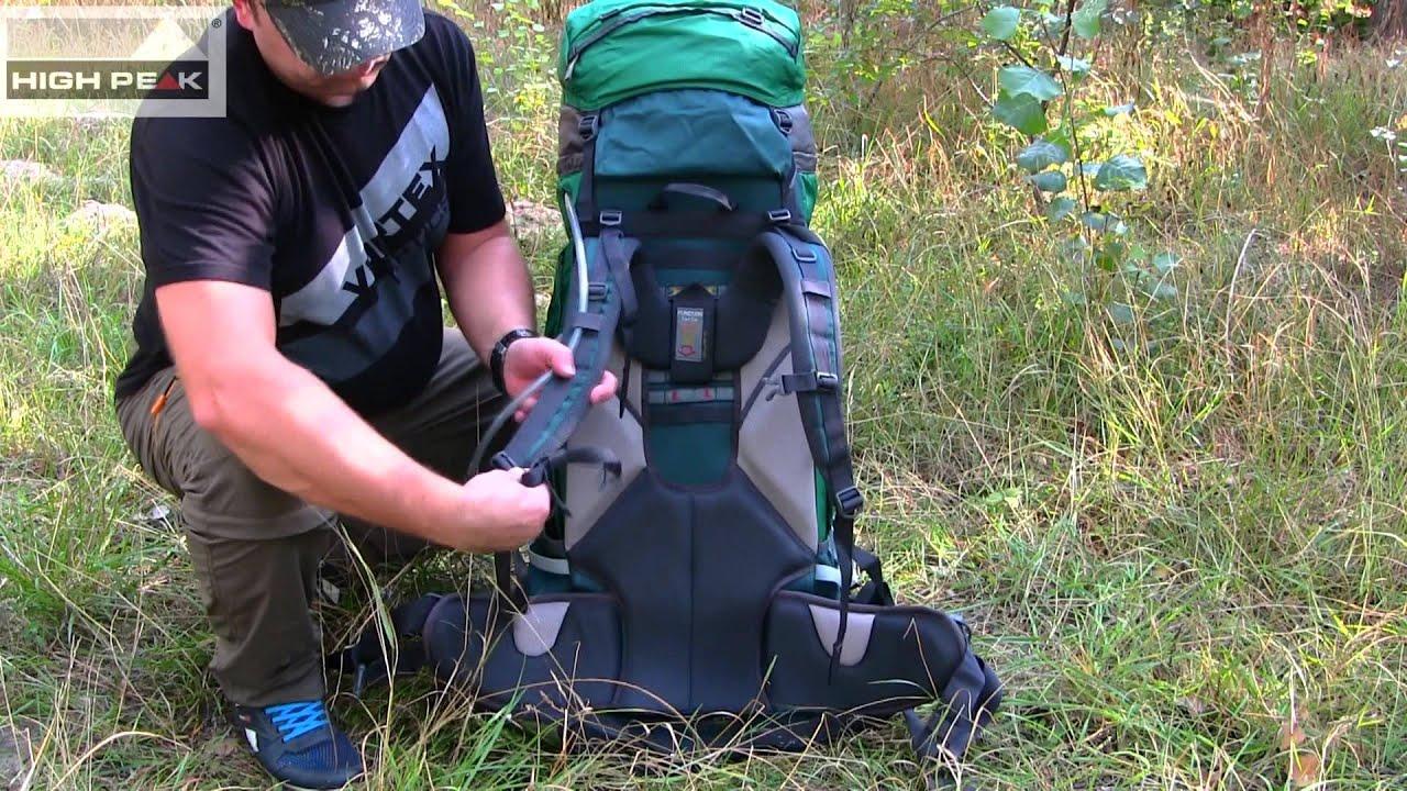 Рюкзак high peak california 65 рюкзак cascade 60m олива