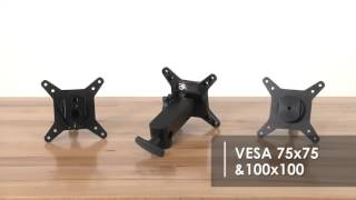 Mount Large Monitors, TV's & Cinema Displays    Vu Monitor Mounts by Tether Tools