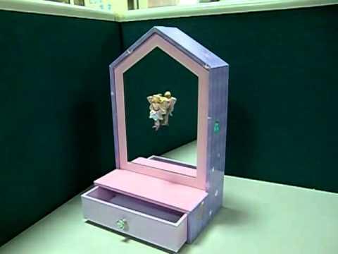 Keepsake Music Box (Moving Fairy)