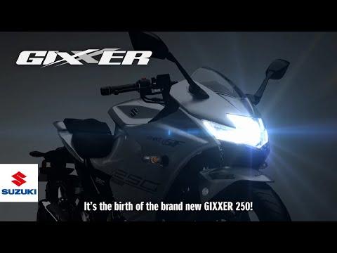 GIXXER 250 SF  Technical Presentation Video