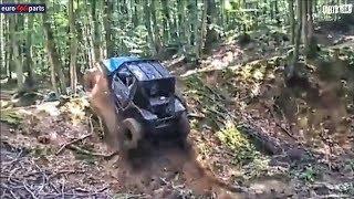 Suzuki Samurai (Nissan Patrol diff, Opel Vectra OPC engine)