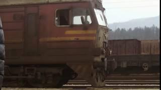 влакове с графити