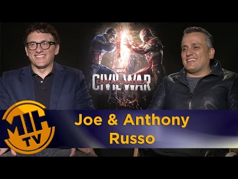 Captain America: Civil War interview Joe & Anthony Russo