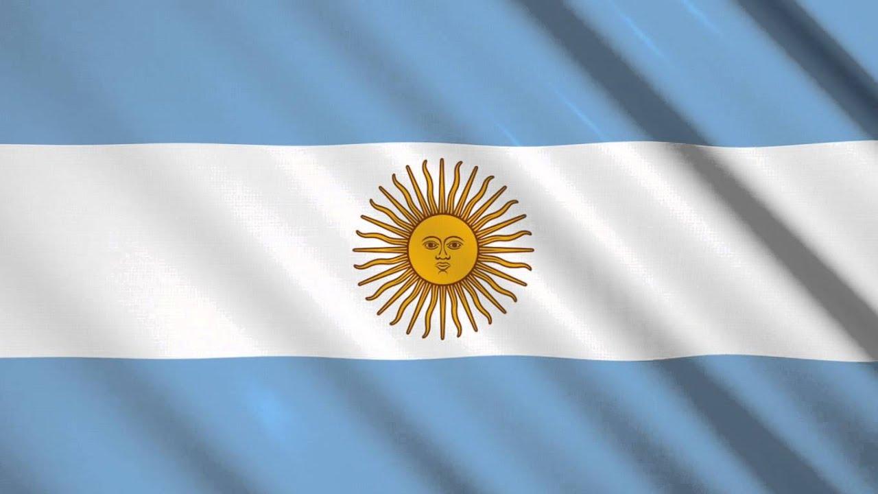 Bandera De Argentina Video Background Fondo De Video
