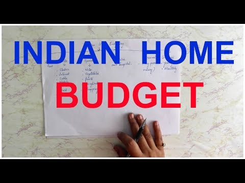 INDIAN HOME BUDGETING | NAVYA AMBARISH
