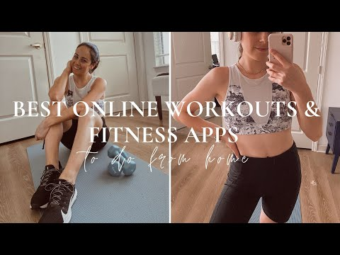 ONLINE WORKOUTS & FITNESS APPS FROM HOME (a review) | corepower, p.volve, peloton, etc.