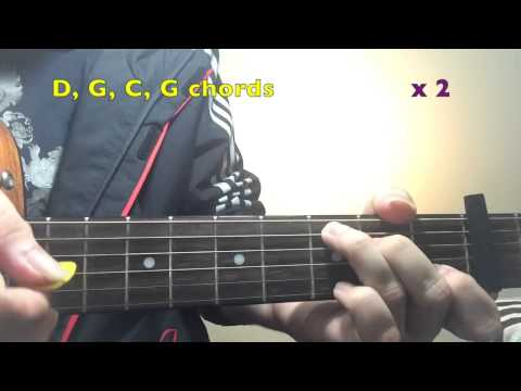 Girl Almighty One Direction Guitar Tutorial Guitar Lesson Easy