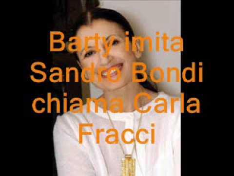 Sandro Bondi (Barty RDS) chiamaCarla Fracci.wmv