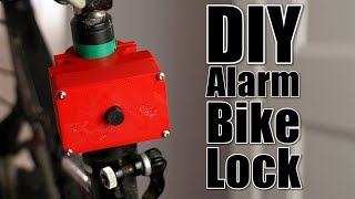 DIY Alarm Bike Lock (Shock Act…