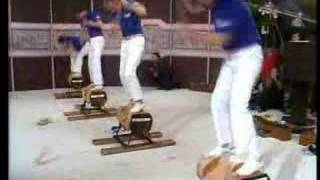 World Of Sport - Woodchop Competition Grand Final