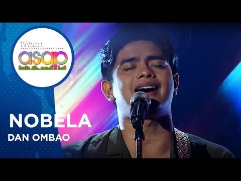 Dan Ombao - Nobela | iWant ASAP Highlights