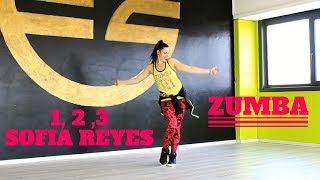 1 2 3 - Sofia Reyes ft Jason Derulo , De la Ghetto by Martina Banini // ZUMBA FITNESS Video