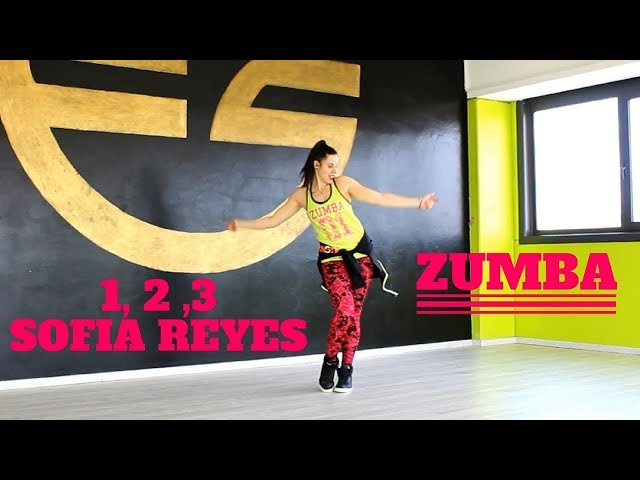 1 2 3 - Sofia Reyes ft Jason Derulo , De la Ghetto by Martina Banini // ZUMBA FITNESS