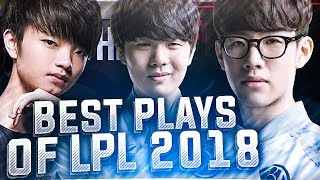 Best Plays & Outplays of LPL 2018 Compilation