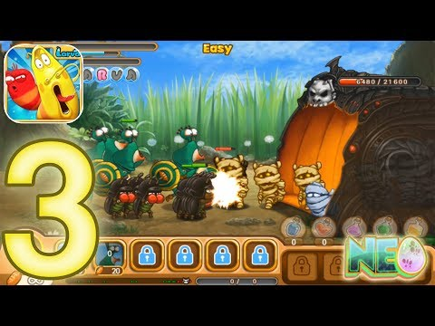 larva-heroes-lavengers:-gameplay-walkthrough-part-3---episode-1-8---1-9-completed-(ios,-android)