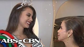 WATCH: Miss Universe Catriona Gray Speaks After Coronation  | 17 December 2018