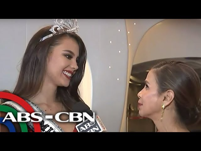 Watch Miss Universe Catriona Gray Speaks After Coronation 17 December 2018