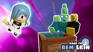 20 RARE CRATES! - #RoadToRemSkin [Tower Heroes - Roblox]