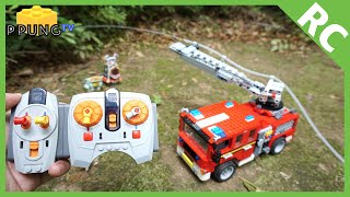 LEGO Fire Truck RC (RC FIRE ENGINE) by 뿡대디