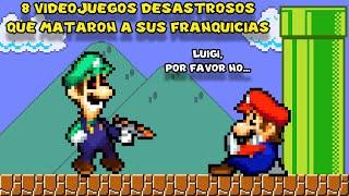 8 Videojuegos DESASTROSOS que MATARON A SUS FRANQUICIAS - Pepe el Mago