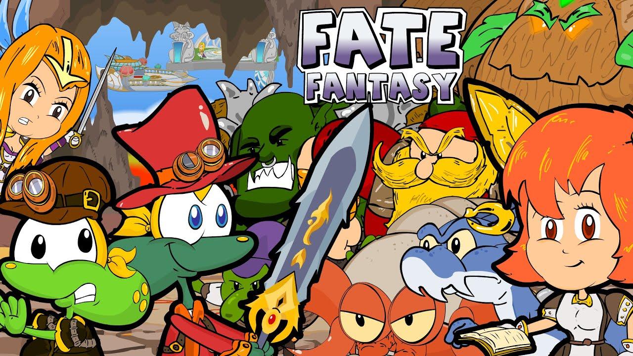 Sapo Brothers no mundo de Fate Fantasy em Desenho Animado Episódio completo