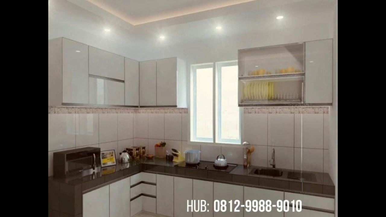 Harga Kitchen Set Minimalis Kayu Jati Belanda Di Surabaya Youtube