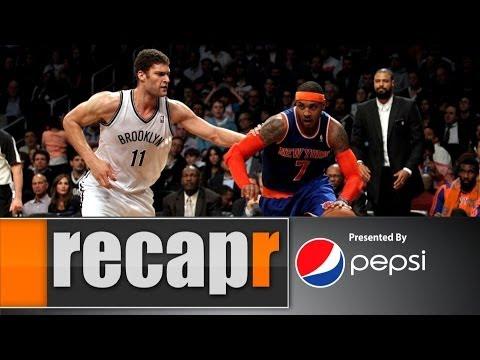 Recapr - Knicks rout Nets in Battle of the Broken