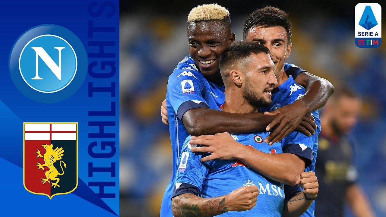 Napoli 6-0 Genoa   Lozano bags brace as Napoli win against Genoa   Serie A TIM