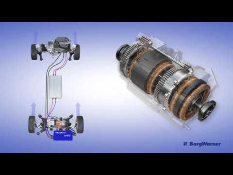 Torque Vectoring Electric Drive Module HD