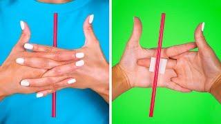 Trucos mágicos simples que cualquiera puede hacer || Bromas y trucos divertidos de 123 GO! Spanish